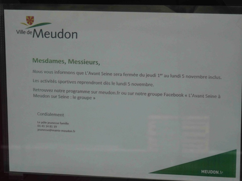 Pôle d'activités et de sport de Meudon : Avant Seine Dsc00532