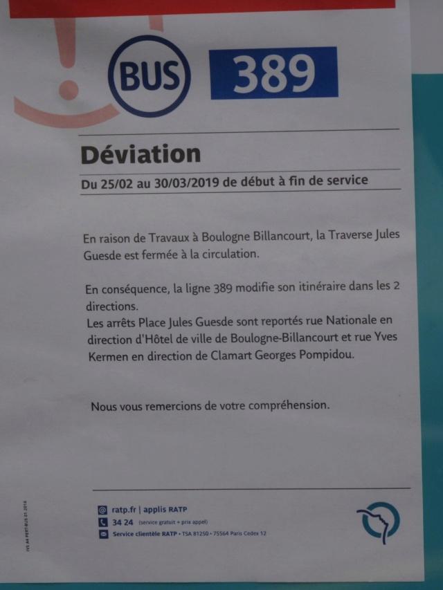 Bus 389 - Clamart - Trapèze - Hôtel de ville Boulogne-Billancourt Dsc01834