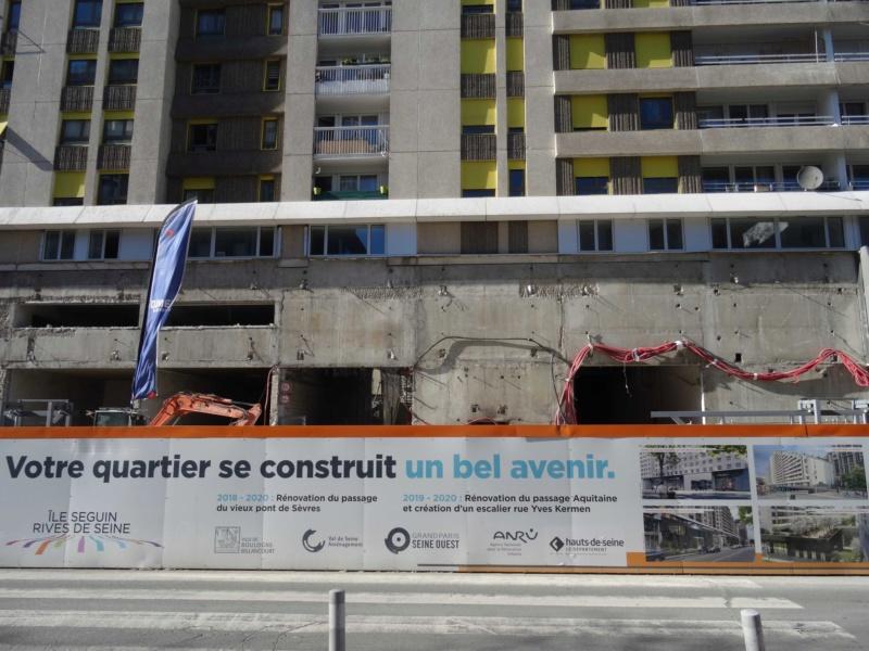 Rénovation du passage commercial du quartier du Pont de Sèvres Dsc02031