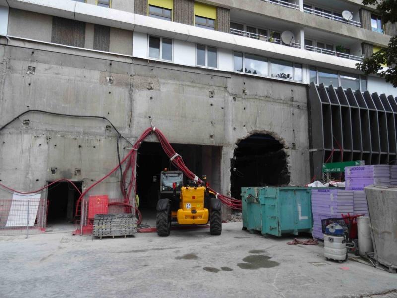 Rénovation du passage commercial du quartier du Pont de Sèvres Dsc02723