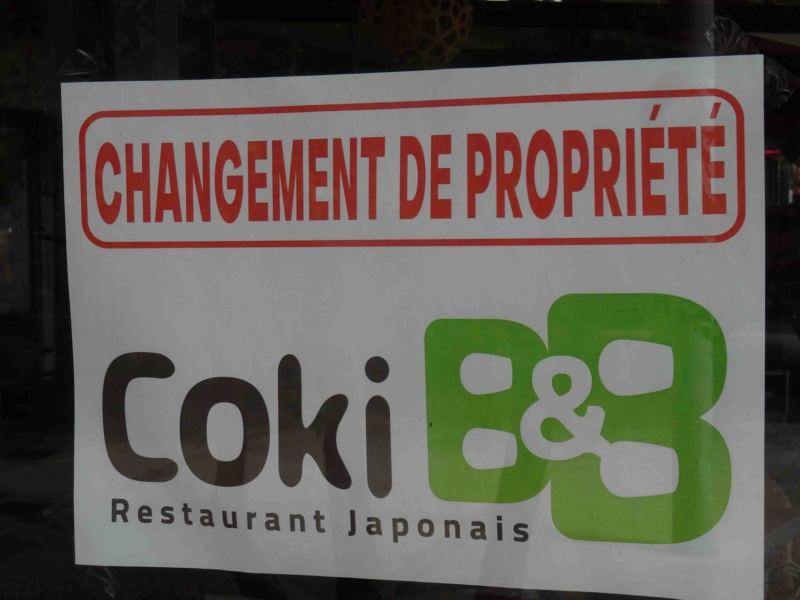 Restaurant japonais Coki B&B Dsc02945