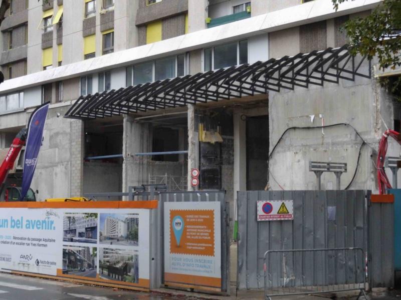 Rénovation du passage commercial du quartier du Pont de Sèvres Dsc03926