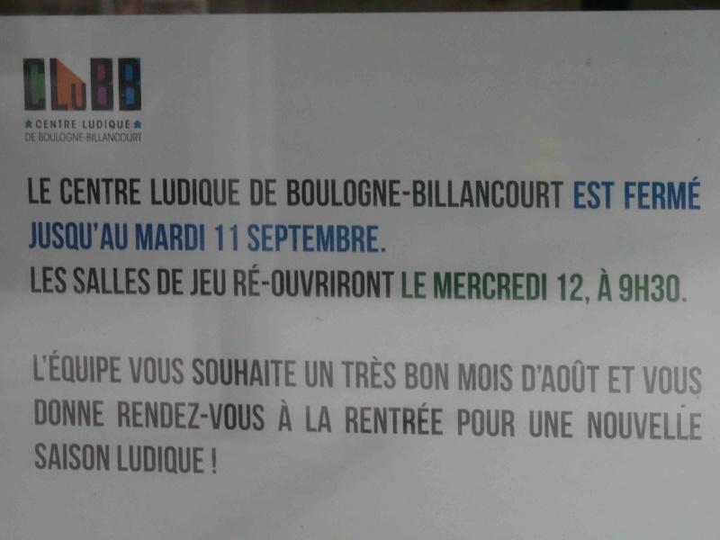 Centre Ludique de Boulogne-Billancourt (CLuBB) Dsc09361