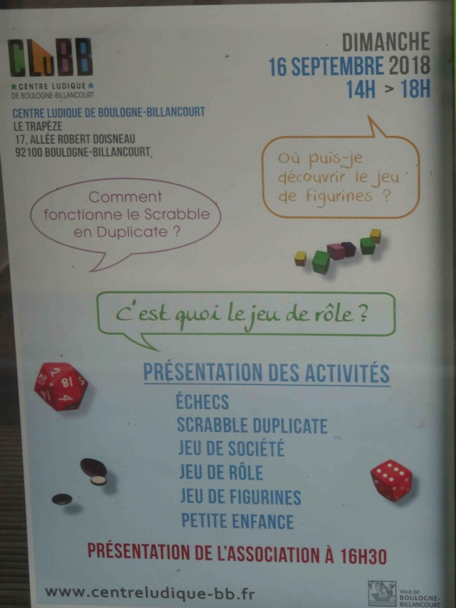 Centre Ludique de Boulogne-Billancourt (CLuBB) Dsc09362