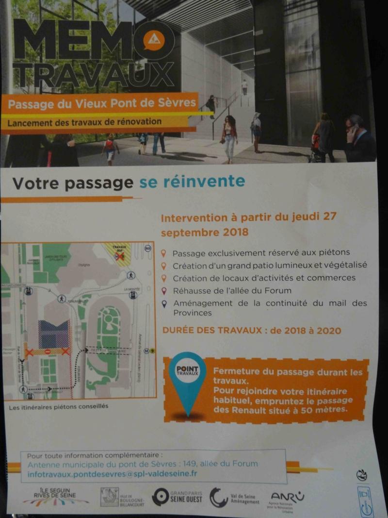 Rénovation du passage commercial du quartier du Pont de Sèvres Dsc09818