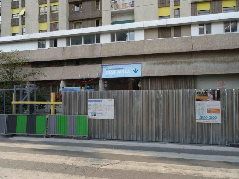 Rénovation du passage commercial du quartier du Pont de Sèvres Dsc09854