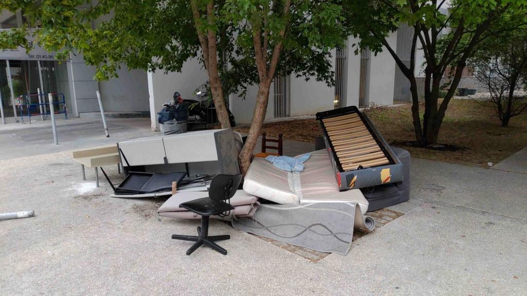 Encombrants, poubelles et caddies P_201935