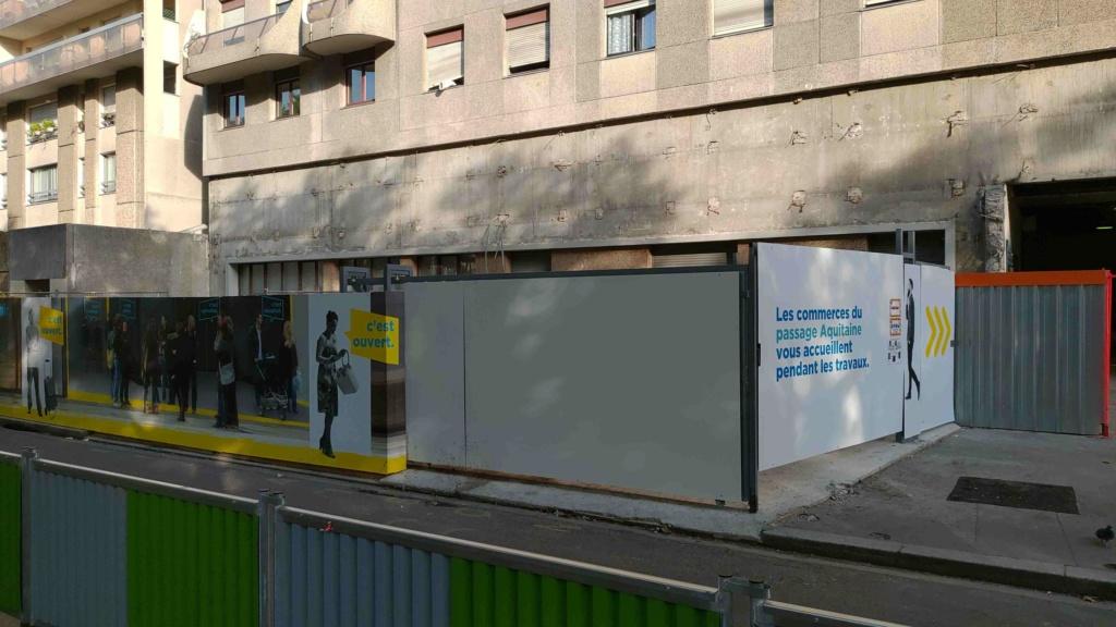 Rénovation du passage commercial du quartier du Pont de Sèvres P_201940