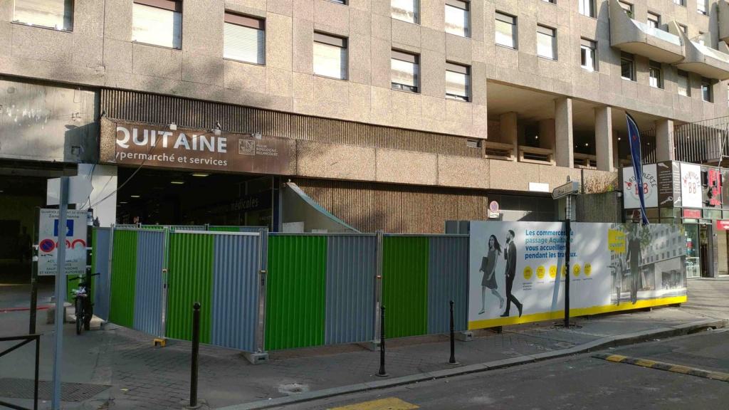 Rénovation du passage commercial du quartier du Pont de Sèvres P_201941