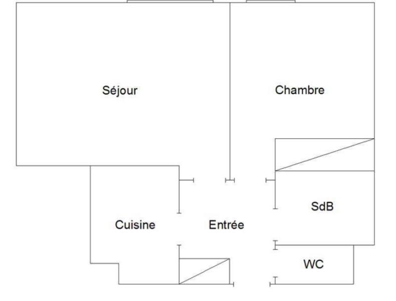 Vente appartement 2 pièces - 47m2 - quartier Silly-Gallieni Plan_210