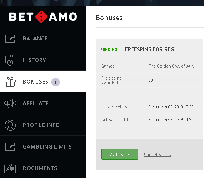 Betamo Casino 20 Free Spins no deposit bonsus (exclusive) Bezety55