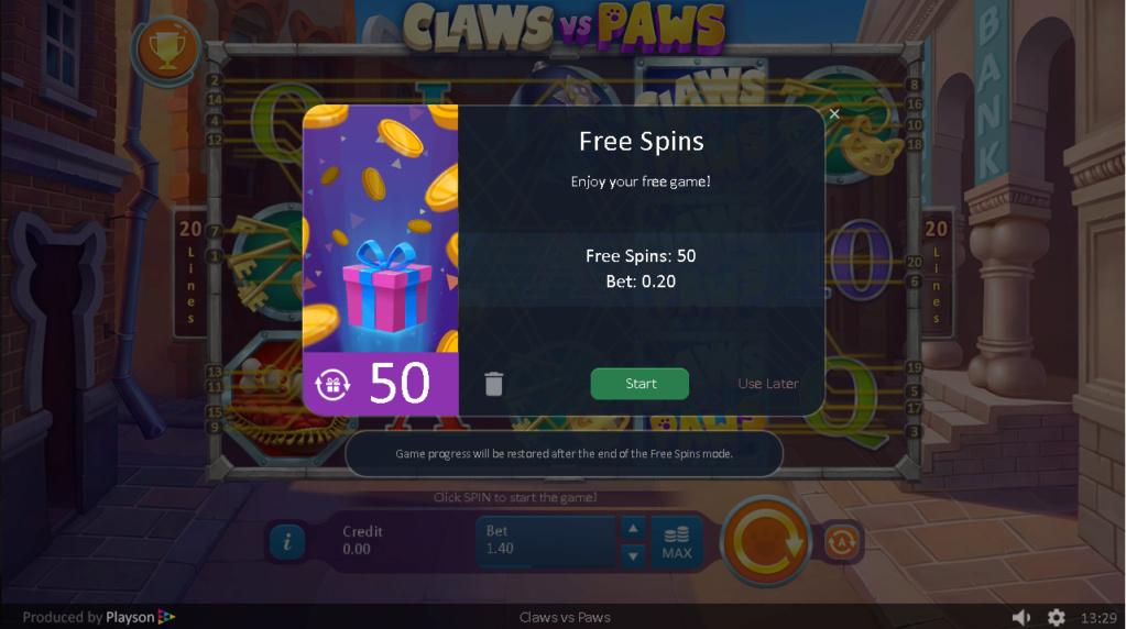 Casino Sinners 50 Free Spins no deposit bonus Bezety65