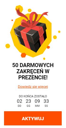 Spinamba Casino 50 spinów za darmo bez depozytu Indeks10
