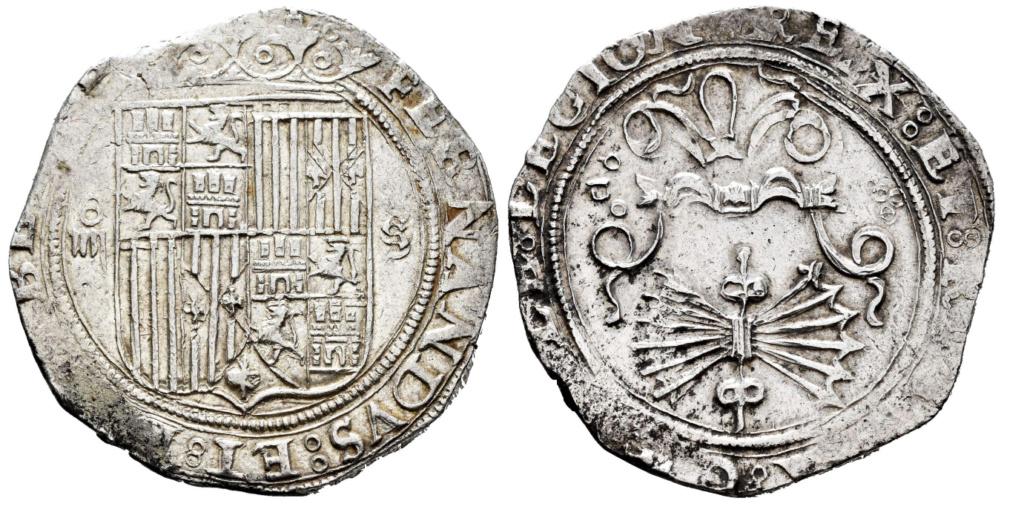 4 Reales acuñados durante el reinado de Felipe II a nombre de los Reyes Católicos 4_real10