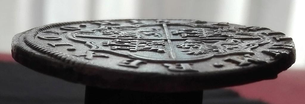 8 Reales de Felipe III de 1620 acuñados en el Real Ingenio de Segovia. Lance dedit. 8_real16