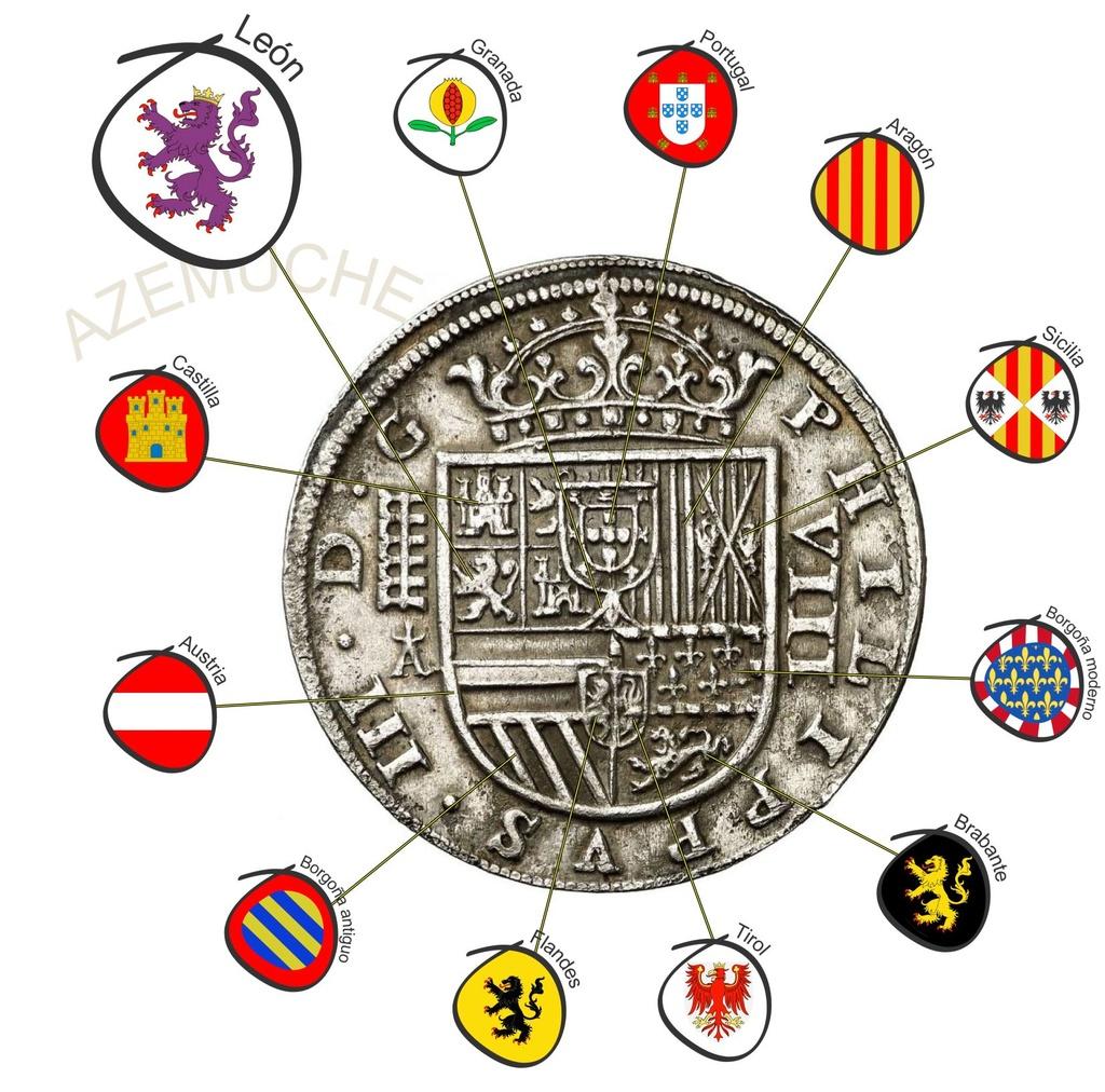 8 Reales de Felipe III de 1620 acuñados en el Real Ingenio de Segovia. Lance dedit. 8_real22