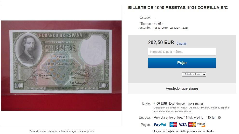 GRANDES MISTERIOS (I) - Tacos existentes 1000 pesetas 1931 Zorrilla - Página 3 1000pt10