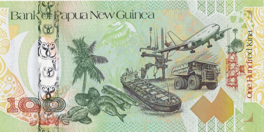 ¿Se pueden coleccionar todos los billetes de un país? PAPUA NUEVA GUINEA 100_ki15
