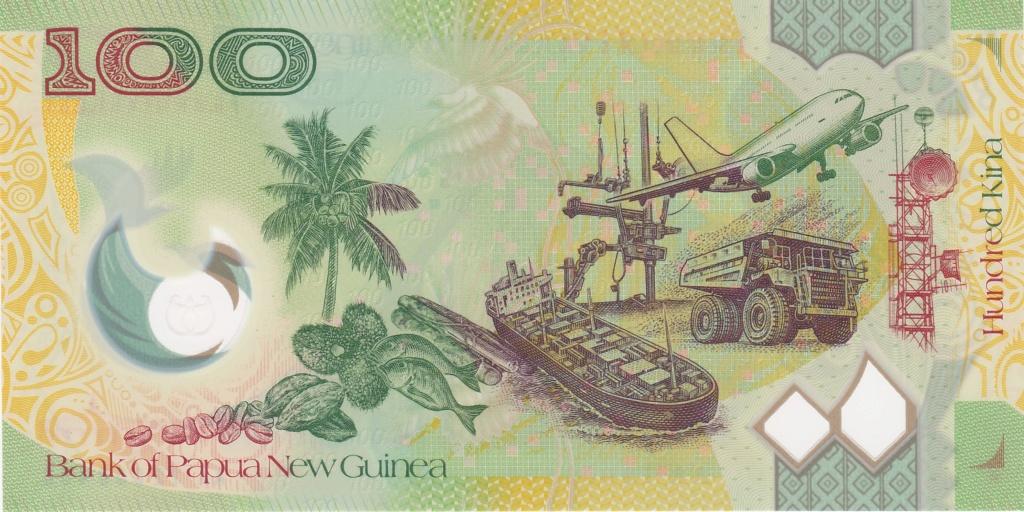 ¿Se pueden coleccionar todos los billetes de un país? PAPUA NUEVA GUINEA 100_ki16