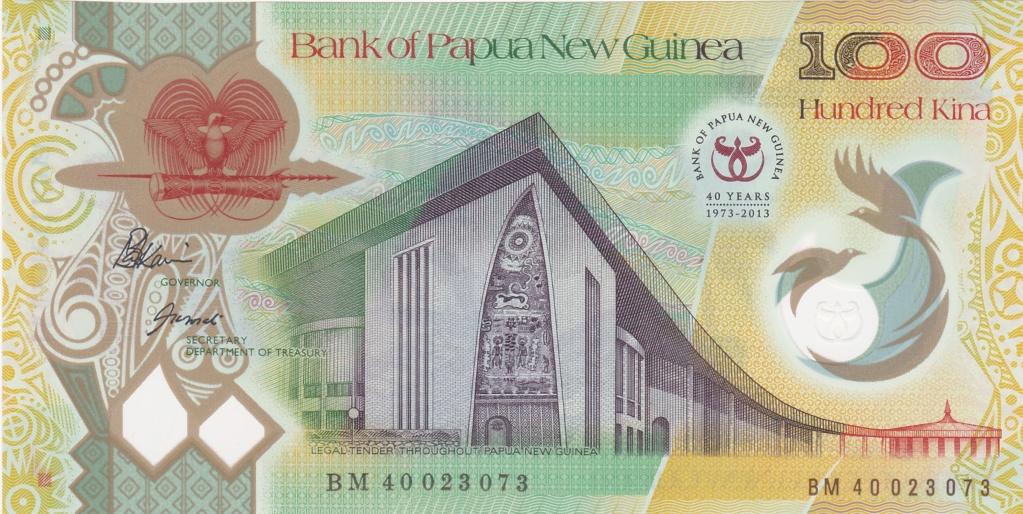 ¿Se pueden coleccionar todos los billetes de un país? PAPUA NUEVA GUINEA 100_ki18