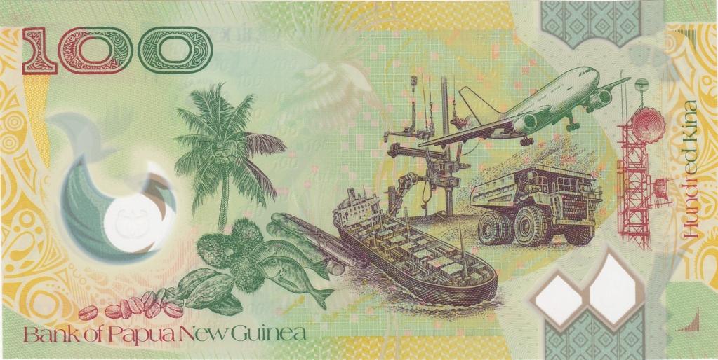 ¿Se pueden coleccionar todos los billetes de un país? PAPUA NUEVA GUINEA 100_ki20