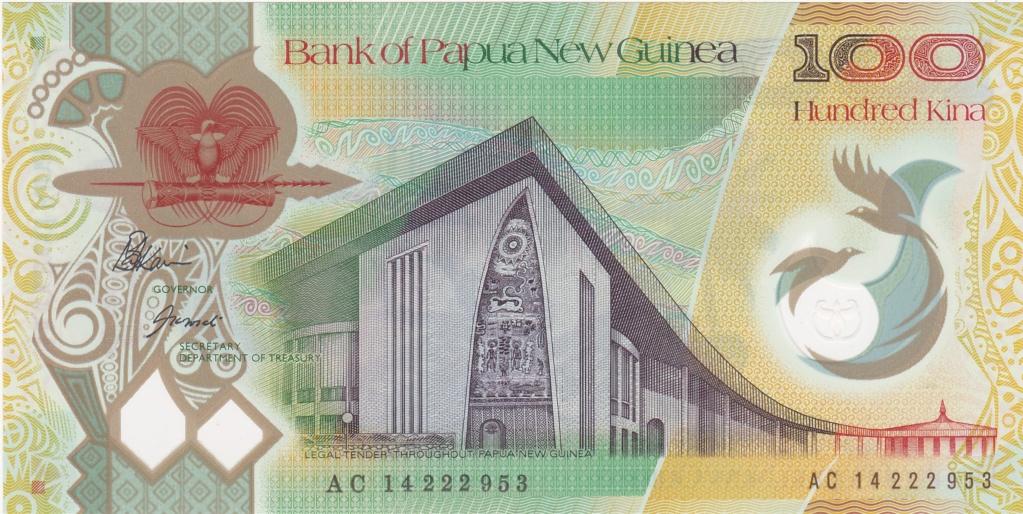 ¿Se pueden coleccionar todos los billetes de un país? PAPUA NUEVA GUINEA 100_ki21