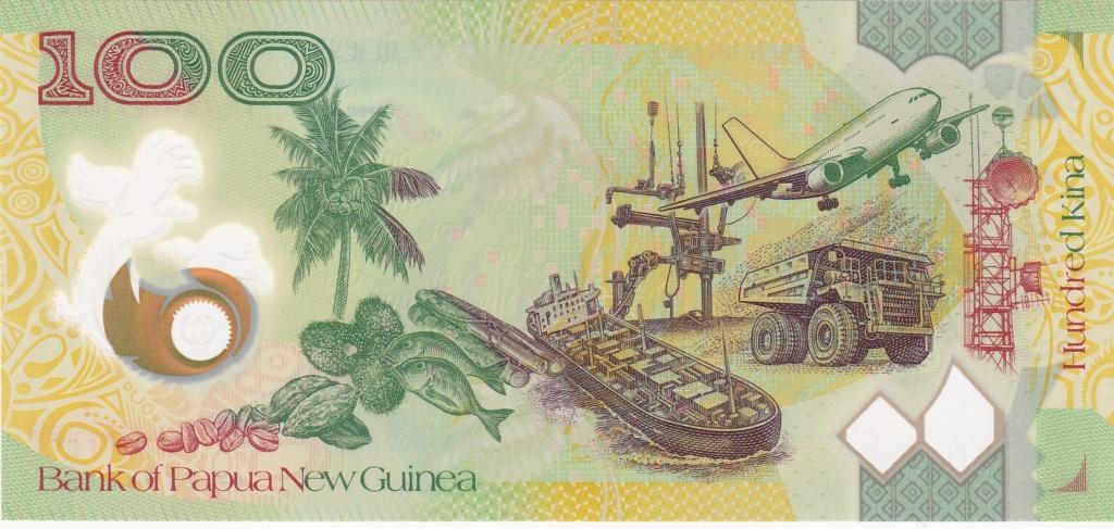 ¿Se pueden coleccionar todos los billetes de un país? PAPUA NUEVA GUINEA 100_ki22