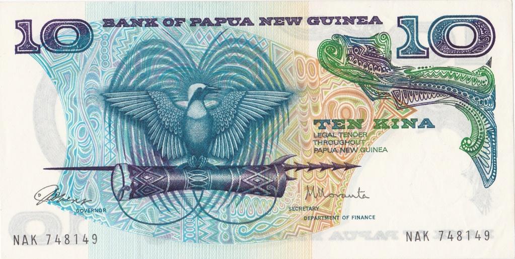 ¿Se pueden coleccionar todos los billetes de un país? PAPUA NUEVA GUINEA 10_kin10