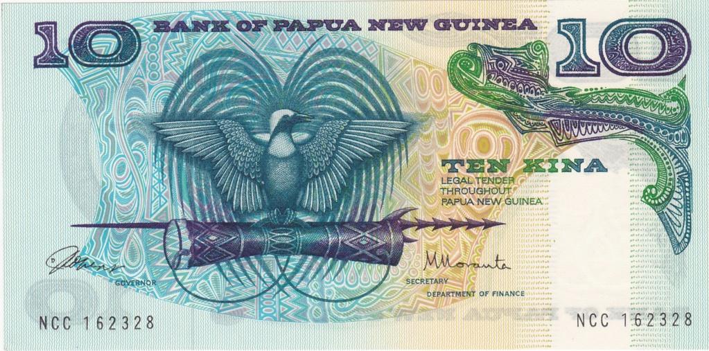 ¿Se pueden coleccionar todos los billetes de un país? PAPUA NUEVA GUINEA 10_kin12