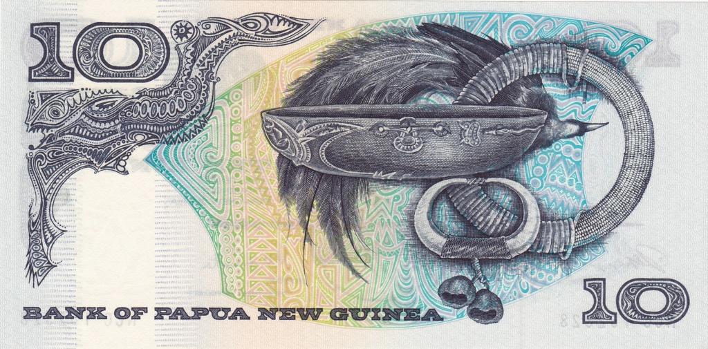 ¿Se pueden coleccionar todos los billetes de un país? PAPUA NUEVA GUINEA 10_kin13