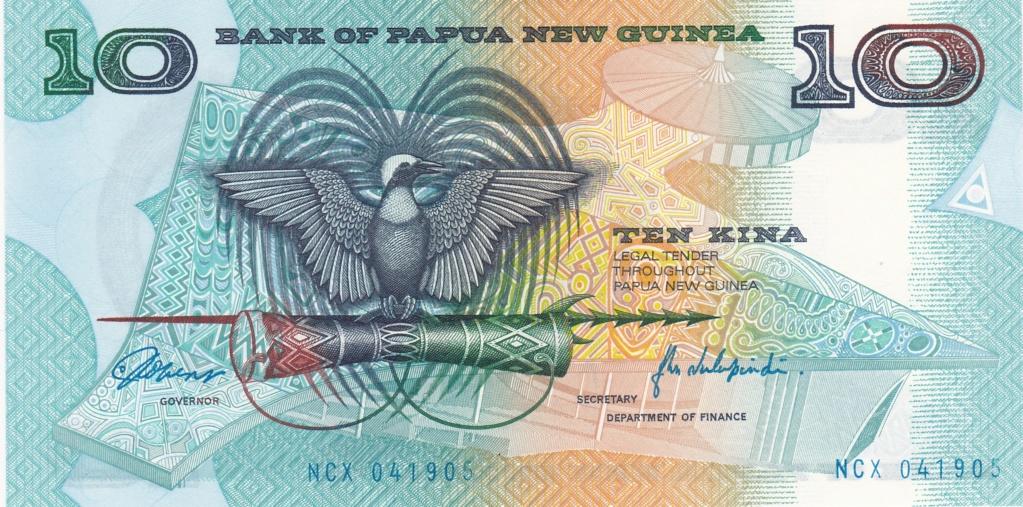 ¿Se pueden coleccionar todos los billetes de un país? PAPUA NUEVA GUINEA 10_kin14
