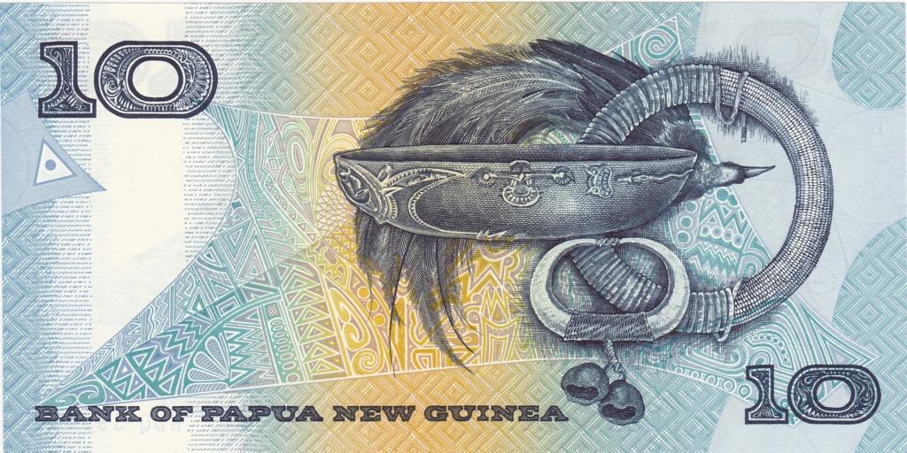 ¿Se pueden coleccionar todos los billetes de un país? PAPUA NUEVA GUINEA 10_kin16