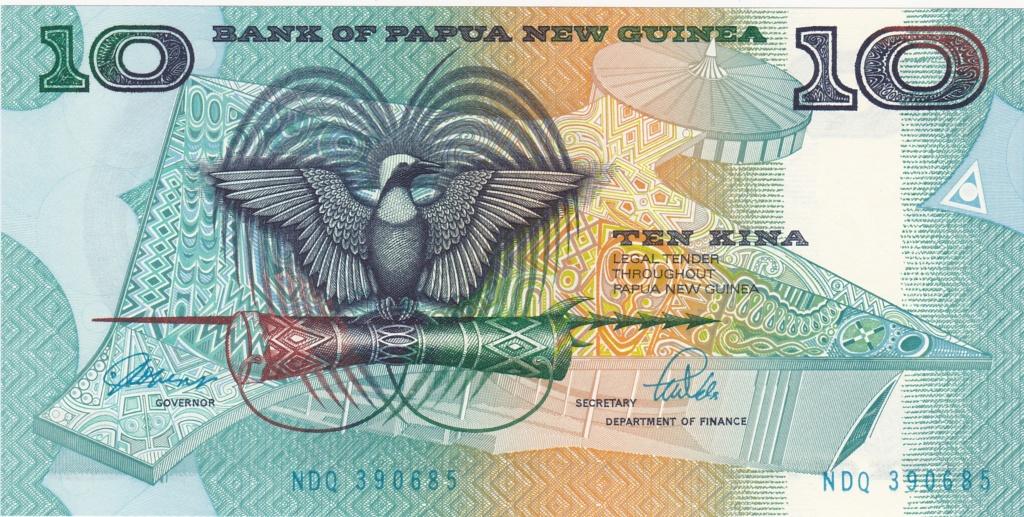 ¿Se pueden coleccionar todos los billetes de un país? PAPUA NUEVA GUINEA 10_kin17
