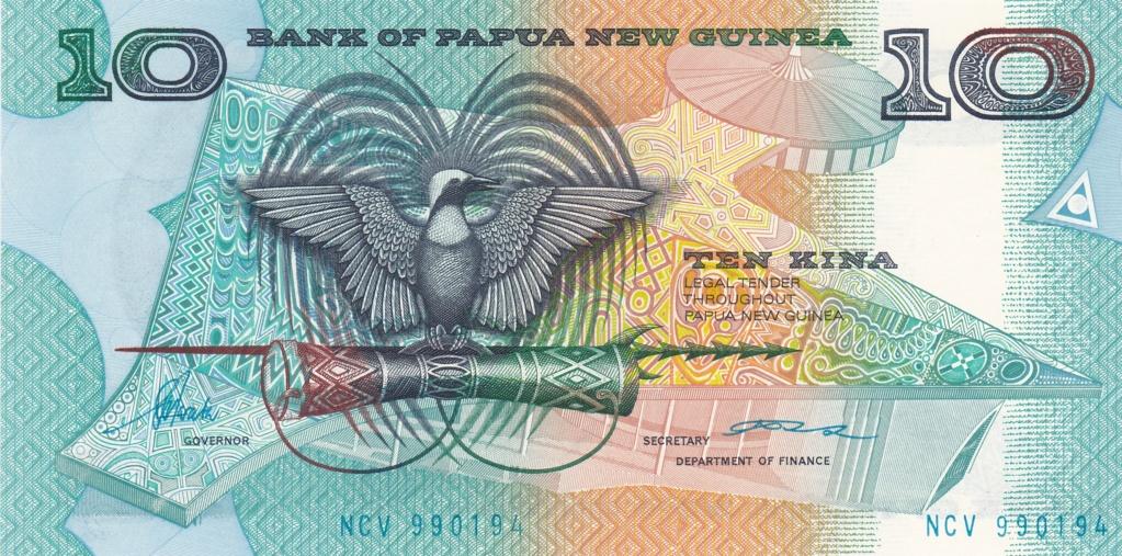¿Se pueden coleccionar todos los billetes de un país? PAPUA NUEVA GUINEA 10_kin18