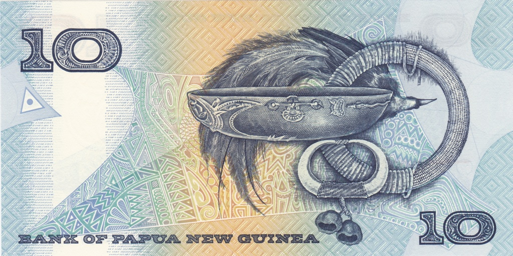 ¿Se pueden coleccionar todos los billetes de un país? PAPUA NUEVA GUINEA 10_kin24