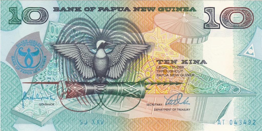 ¿Se pueden coleccionar todos los billetes de un país? PAPUA NUEVA GUINEA 10_kin26