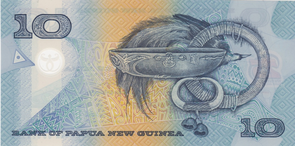¿Se pueden coleccionar todos los billetes de un país? PAPUA NUEVA GUINEA 10_kin27