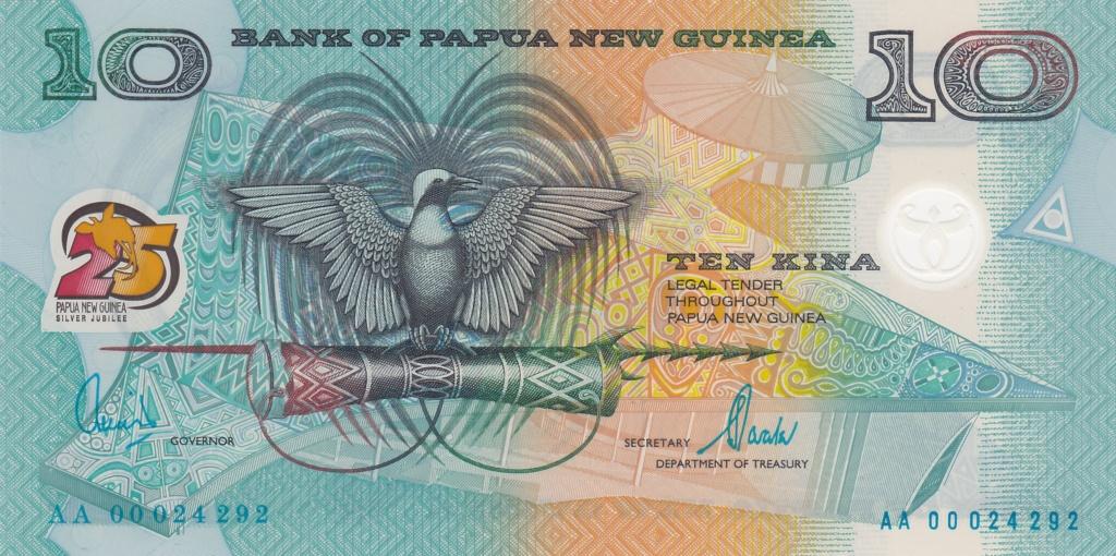 ¿Se pueden coleccionar todos los billetes de un país? PAPUA NUEVA GUINEA 10_kin28