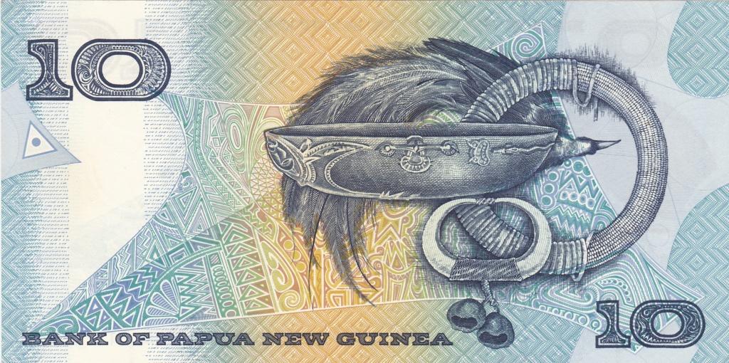 ¿Se pueden coleccionar todos los billetes de un país? PAPUA NUEVA GUINEA 10_kin29