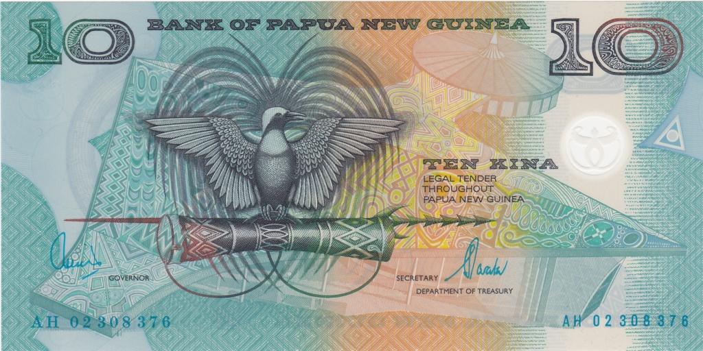 ¿Se pueden coleccionar todos los billetes de un país? PAPUA NUEVA GUINEA 10_kin30
