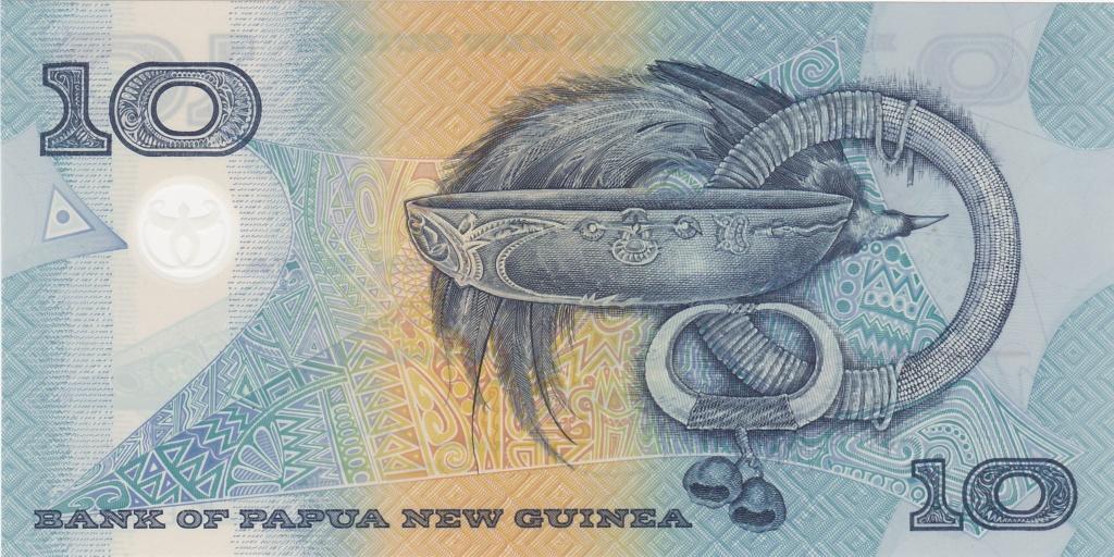 ¿Se pueden coleccionar todos los billetes de un país? PAPUA NUEVA GUINEA 10_kin32