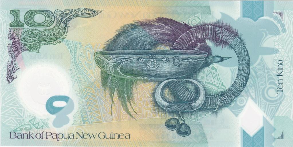 ¿Se pueden coleccionar todos los billetes de un país? PAPUA NUEVA GUINEA 10_kin35