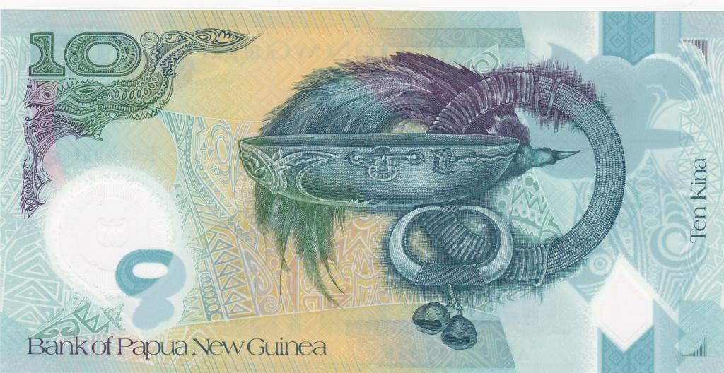 ¿Se pueden coleccionar todos los billetes de un país? PAPUA NUEVA GUINEA 10_kin37