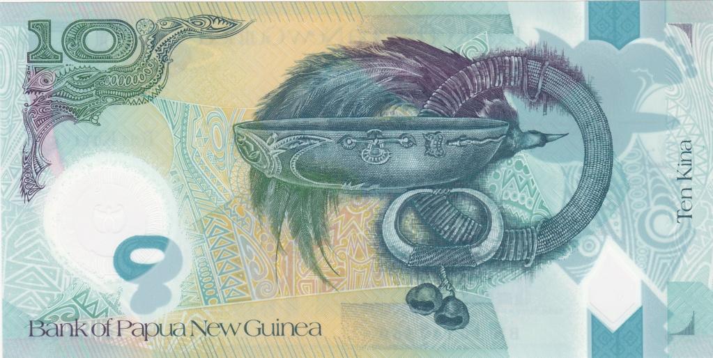 ¿Se pueden coleccionar todos los billetes de un país? PAPUA NUEVA GUINEA 10_kin39