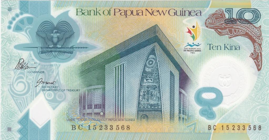 ¿Se pueden coleccionar todos los billetes de un país? PAPUA NUEVA GUINEA 10_kin40