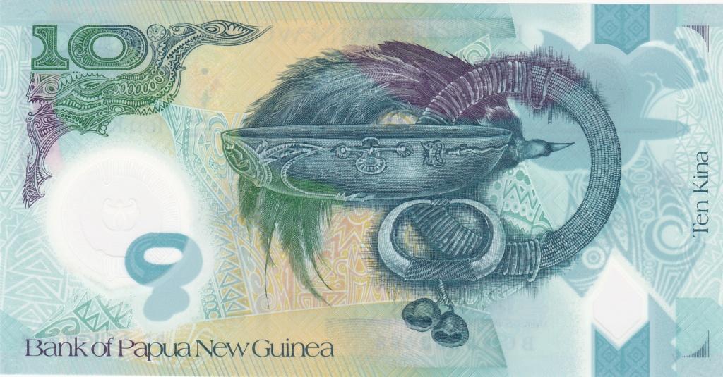 ¿Se pueden coleccionar todos los billetes de un país? PAPUA NUEVA GUINEA 10_kin41