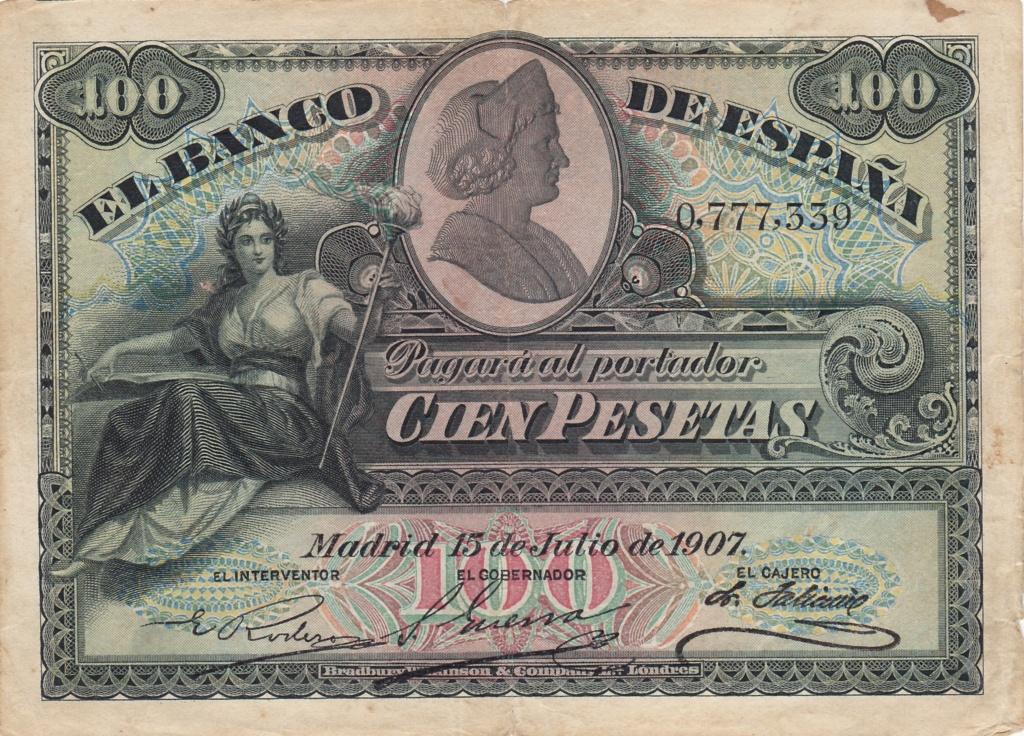 100 Pesetas 1907 (Doble Sello Seco) 1931_p10