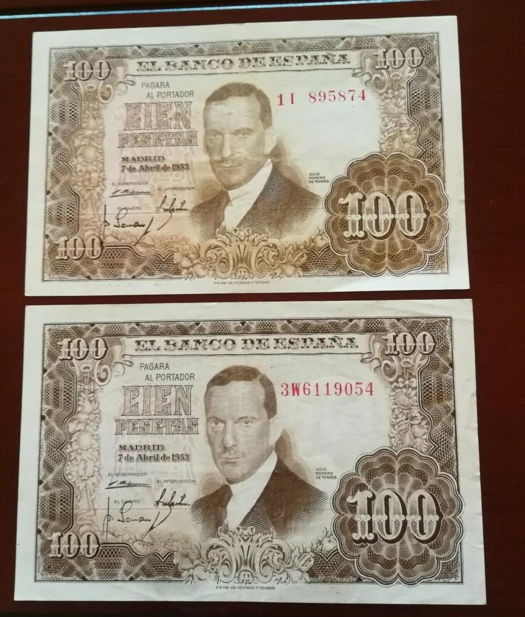 Investigación - Billetes de 100 pts 1953 Romero de Torres 1i_3w10