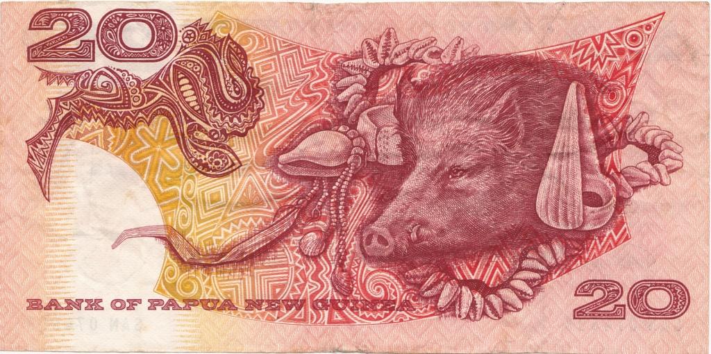 ¿Se pueden coleccionar todos los billetes de un país? PAPUA NUEVA GUINEA 20_kin10