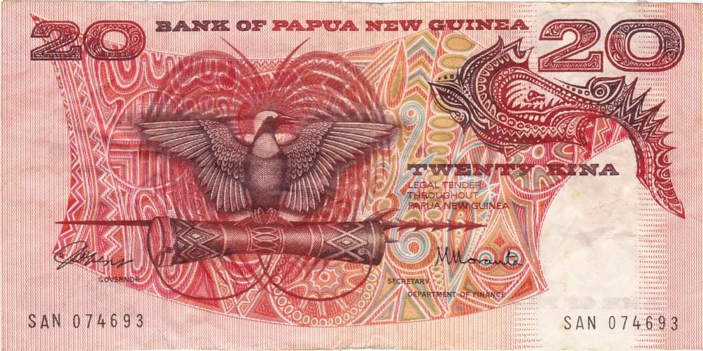 ¿Se pueden coleccionar todos los billetes de un país? PAPUA NUEVA GUINEA 20_kin11